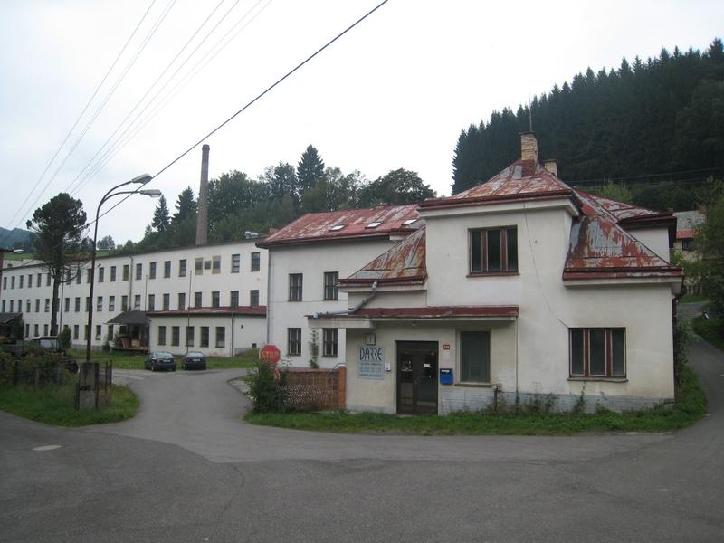 Dražba továrního objektu v Jablonci nad Jizerou
